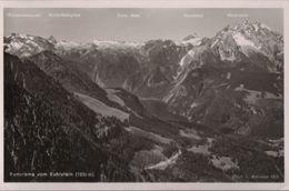 Kehlstein - Panorama - 1952 - Deutschland