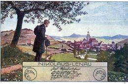 Illustrateur, Künstler, E Kutzer,  Série Nikolaus-Lenau Editeur B K W I 768-3 - Kutzer, Ernst