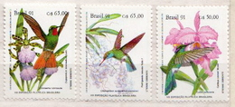Brazil MNH Set - Hummingbirds