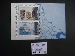 DANIMARCA / DENMARK 2007 - INTERNATIONAL POLAR YEAR MS MNH - Blocchi & Foglietti