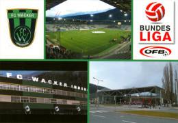 1) AK Stadion Postkarte Tivoli Neu Innsbruck FC Wacker Tirol Fußball Football Stadium Österreich Austria Stadio Estadio - Fussball