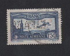 Faux Poste Aérienne N° 6c, Perforé EIPA Oblitéré - 1927-1959 Usati