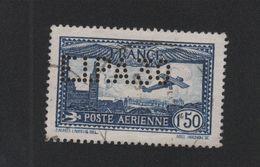 Faux Poste Aérienne N° 6c, Perforé EIPA Oblitéré - 1927-1959 Matasellados