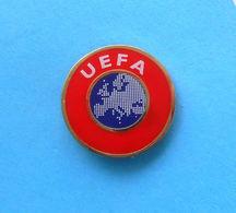 UEFA  ... Official Football Pin Badge ( By Uefa.com ) * Soccer Fussball Calcio Futbol Futebol Foot Abzeichen Spilla - Football