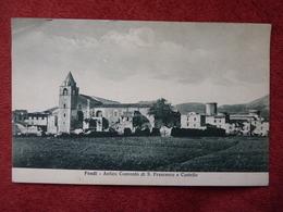 CPA - Italie - FONDI - Antico Convento Di S. Francesco E Castello - Altri