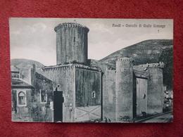 CPA - Italie - FONDI -  Castello Di Giulta Gonzaga - Altri