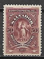 SALVADOR   -   1890 .  Y&T N° 34 * - Salvador