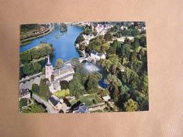 ANSEREMME Vue Aérienne Meuse Lesse Animée  België Belgique Carte Postale Postcard - Dinant