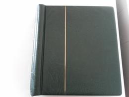ALBUM LEUCHTTURM REF. OP 25 02 198 VERT AVEC PAGES COMPLETES DE 1980 A 1991 - Albums & Reliures