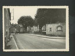 CPSM - 71 - REMIGNY - LA PLACE DU MONUMENT AUX MORTS ET LA FONTAINE - France