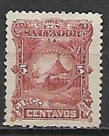 SALVADOR   -   1891 .  Y&T N° 39 (*) - El Salvador