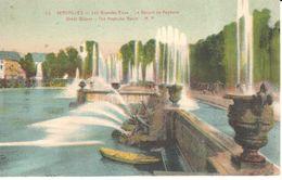 (78) Yvelines - Versailles - Les Grandes Eaux - Le Bassin De Neptune - Versailles (Castillo)