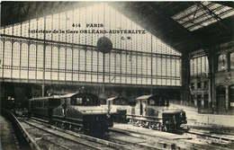 PARIS INTERIEUR DE LA GARE  D'Orleans Austerlitz ( Carte Photo ) - Metropolitana, Stazioni
