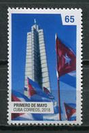 Cuba 2018 / First Of May Work Day MNH Uno De Mayo Día Del Trabajo / Cu9404  C3 - Cuba
