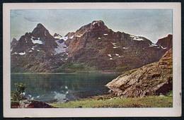B6300 - Norge Nordland - Lofoten - Naturfarbenaufnahme - Rotophot Berlin - Miethe - Künstlerkarten