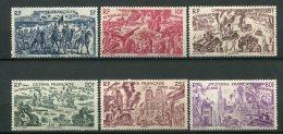 8306  GUYANE Française   PA 29/34 *  Tchad Au Rhin    1946   TTB - French Guiana (1886-1949)