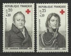 FRANCE      N° YVERT  :   1433/1434       NEUF SANS CHARNIERE - France