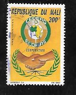 TIMBRE OBLITERE  DU MALI DE 1995 N° MICHEL 1344 - Mali (1959-...)