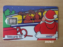 SNCF Père Noël 50U SC5 - Trains
