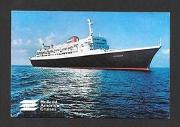 BATEAUX - PAQUEBOTS - SHIPS - S.S. VOLENDAM - HOLLAND AMERICA CRUISES - NICE STAMP - Paquebots