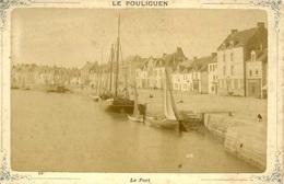 Photo Avant 1900 Le Pouliguen Port 16,5 Par 11 Cm - Photos