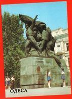 Odessa Monument Armed Uprising 1905 Battleship Potemkin Fleet Pioneers Ukraine - Guerra