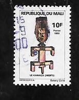 TIMBRE OBLITERE  DU MALI DE 1998 N° MICHEL 2048 - Mali (1959-...)