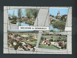 CPSM - 71 - SOUVENIR DE GENOUILLY - MULTI-VUES - France