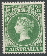 Australia. 1955 Centenary Of First South Australian Postage Stamp. 3½d MNH SG 288 - 1952-65 Elizabeth II : Pre-Decimals
