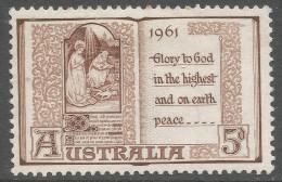 Australia. 1961 Christmas. 5d MH SG 341 - 1952-65 Elizabeth II : Pre-Decimals