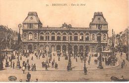 Brussel - Bruxelles - Gare Du Nord - Spoorwegen, Stations