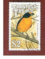 TRINIDAD & TOBAGO  - SG 841  - 1990  BIRDS: EUPHONIA VIOLACEA   - USED° - Trindad & Tobago (1962-...)
