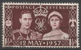 Great Britain. 1937 KGVI Coronation 1½d Used. SG 461 - 1902-1951 (Kings)