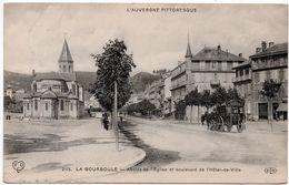 La Bourboule : Abside De L'église, Boulevard De L'Hôtel De Ville (Edit. ELD, N°2115 - VDC) - La Bourboule