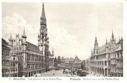Brussel - Bruxelles - Vue Générale De La Grand'Place - Places, Squares