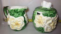 LATTIERA ZUCCHERIERA H 8 CM. - Ceramica & Terraglie