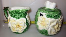 LATTIERA ZUCCHERIERA H 8 CM. - Ceramics & Pottery
