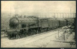 Réseau D'Orléans (PO) - Le Sud-Express Au Saut De Mouton De Juvisy En 1923 - Machine Pacific 3523 - Edit HMP 49 - Trains