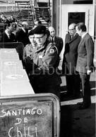 Large REAL Photo / ROYALTY / Belgique / België / Prins Albert / Prince Albert / Aérodrome De Bruxelles-National / 1965 - Beroemde Personen