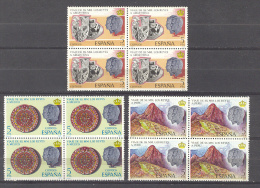 Spain. 1978. Visita Reyes Ed 2493-95 Bloque - 1931-Aujourd'hui: II. République - ....Juan Carlos I
