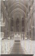 Dépt 80 - LE QUESNEL - PLAQUE De VERRE (négatif Photo Noir & Blanc, Cliché R. Lelong) - Intérieur De L'Église - France