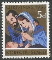 Norfolk Island. 1965 Christmas. 5d MH. SG 59 - Norfolk Island