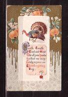 9k * THANKSGIVING CARD * 1914 **!! - Thanksgiving