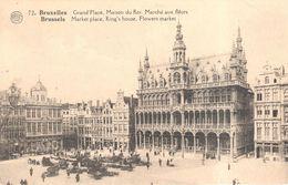Brussel - Bruxelles - Grand'Place - Maison Du Roi - Forêts, Parcs, Jardins