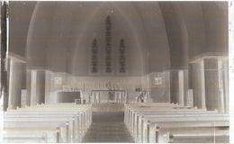 Dépt 80 - BOSQUEL - PLAQUE De VERRE (négatif Photo Noir & Blanc, Cliché R. Lelong) - Intérieur De L'Église - France