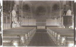 Dépt 80 - ÉQUENNES-ÉRAMECOURT - PLAQUE De VERRE (négatif Photo Noir & Blanc, Cliché R. Lelong) - Intérieur De L'Église - France