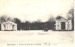 Brussel - Bruxelles - Entrée Du Bois De La Cambre - Forêts, Parcs, Jardins