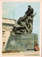 Odessa 1966 Monument To Potemkin's Battleship Potemkin - Guerra