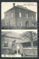 +++ CPA - GROOT BIJGAERDEN - Maison Communale - Gemeentehuis - School - Ecole    // - Dilbeek