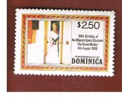DOMINICA  - SG 733a - 1980  QUEEN MOTHER' S 80th  BIRTHDAY         -  MINT** - Dominica (1978-...)